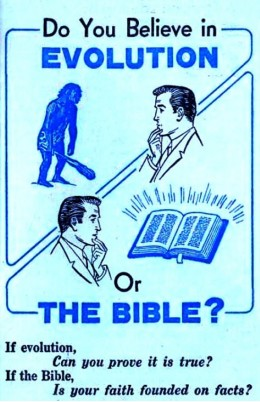 Evolution or the Bible?
