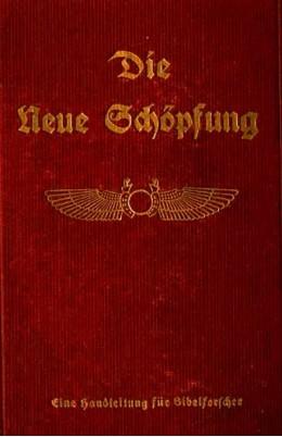 die neue schoepfung 1922