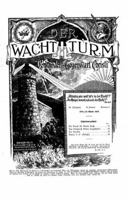 Der Wachtturm 1928, №1