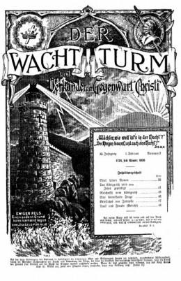 Der Wachtturm 1928, №2