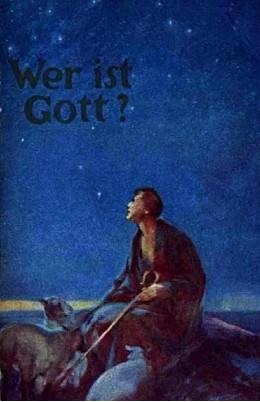 Wer ist Gott  1932