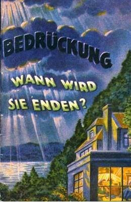 bedrückung  1929
