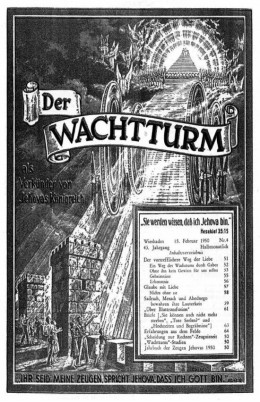 Der Wachtturm 1950 №4