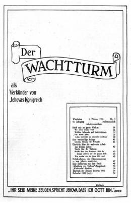 Der Wachtturm 1950 №3