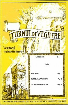 turnul de veghere 1942