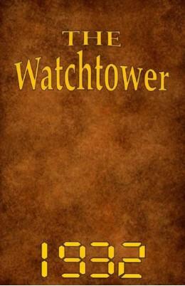 watch tower   1932, №1-24