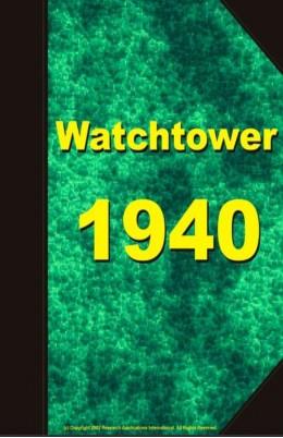 watch tower   1940, №1-24