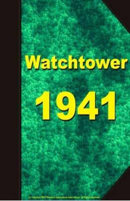 watch tower   1941, №1-24
