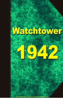 watch tower   1942, №1-24
