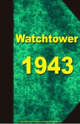 watch tower   1943, №1-24